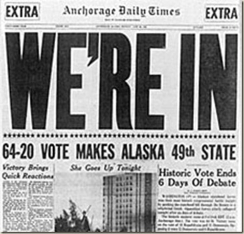 Alaska Becomes a State