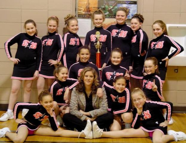 Became a Cheerleader! (: