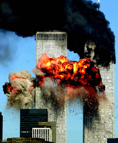 Twin towers went down:(