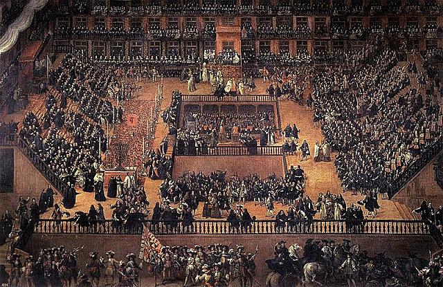 Tribunal Inquisició a Castella.
