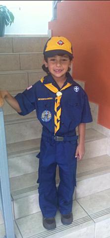 Primer día en los Boys Scouts of America