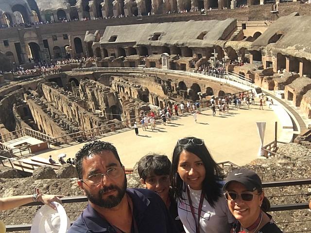 Visita a Roma, Italia