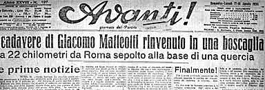 Assassinio di Matteotti