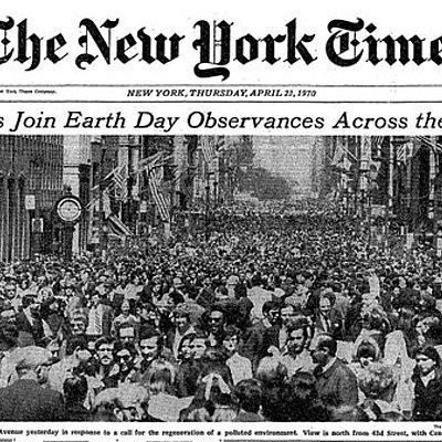 História do movimento ambientalista contemporâneo timeline