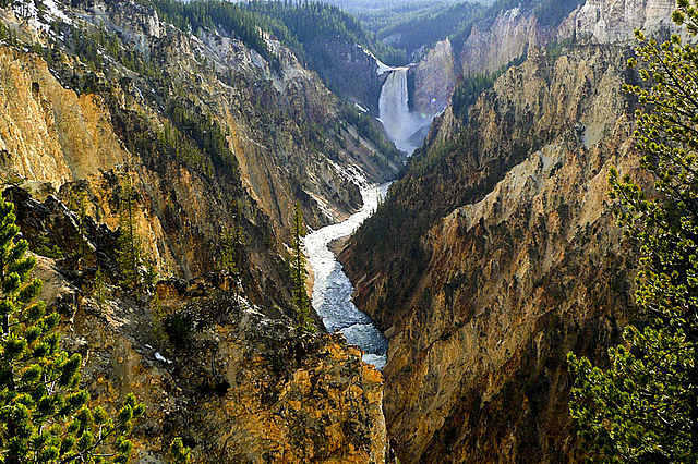 Criação do Parque Nacional Yellowstone, EUA