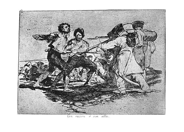 Els estralls de la guerra de Goya