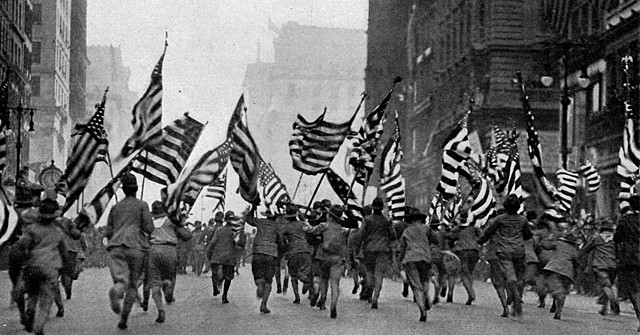 America Joined WW1