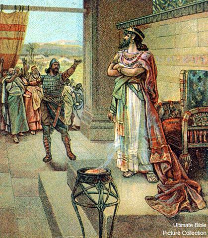 Reheboam Turned On The Israelite's