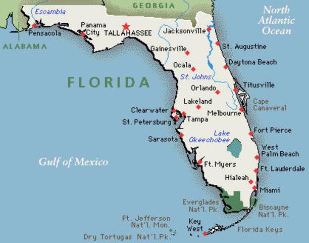 Florida Secession Date