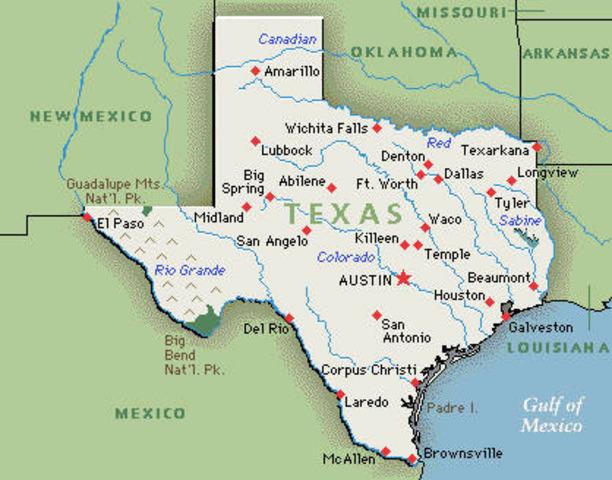 Texas Secession Date