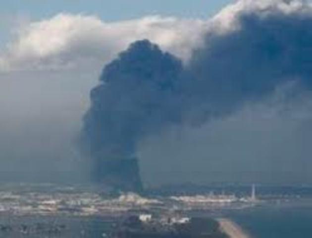 Japan Power Plant EXPLODE