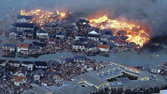 Earhquake Happen In Japan