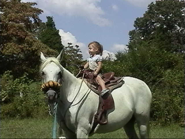 First time I rode a Horse
