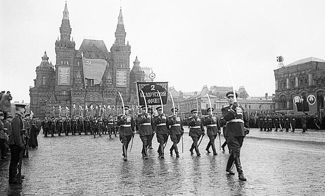 парад Победы в Москве на Красной площади