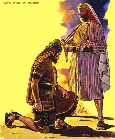 Jereboam is prophesied to be king of ten tribes.