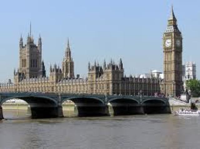 British Houses of Parliament temporarily shut down
