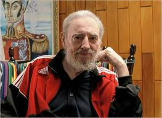 Fidel Castro retires