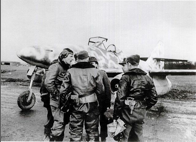 ME 262 Pilots at Gieb