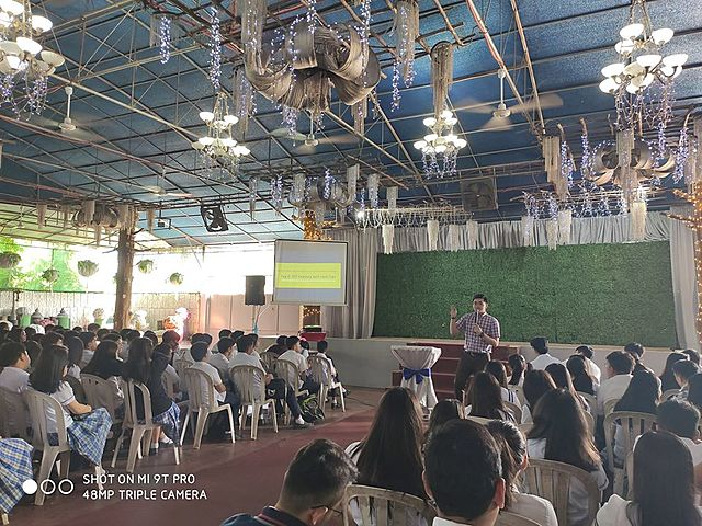 LifeTalk at CFSI-Dau/Mabalacat the 3rd time