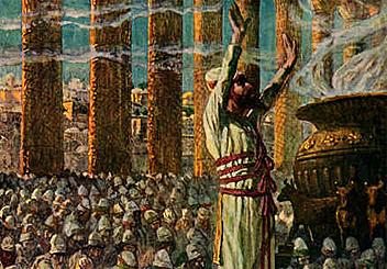 Solomon celebrates the Finishing of the temple