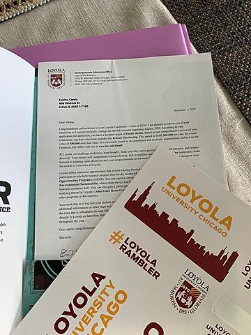 Loyola Acceptance