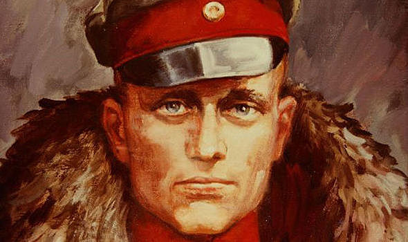The Red Baron died