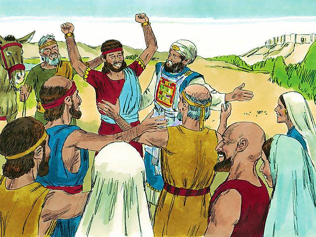 Adonijah tries to become king