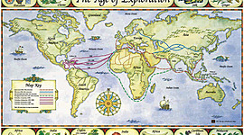 Age of Exploration- By Ashley Vu, Brian Le, Danny Trinh, and Veursace Thorton timeline