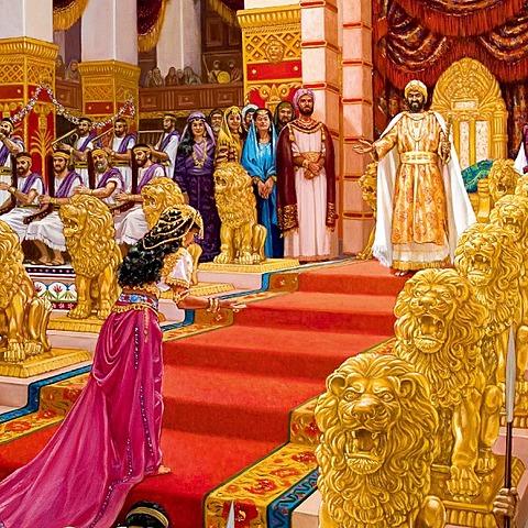 The Queen of Sheba Comes