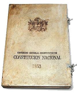 Sanción Constitución Nacional