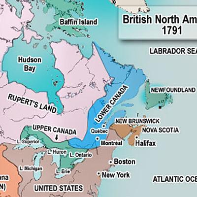 British North America 1763-1783 timeline