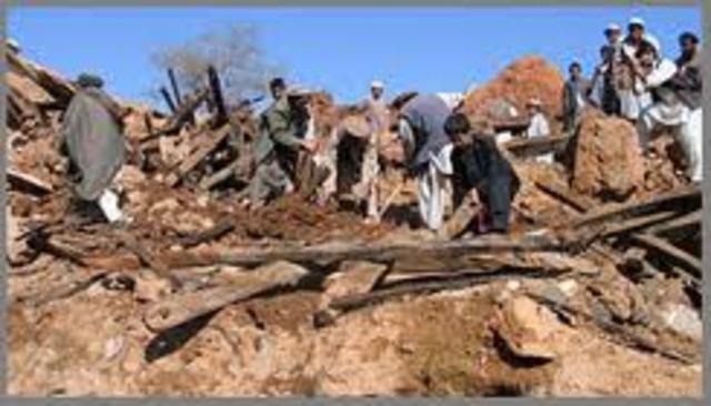 Earthquake in Afganistan