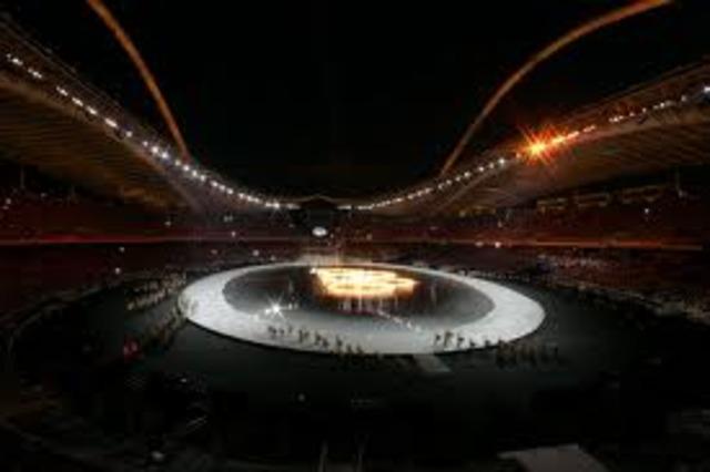The 2004 Summer Olympics begin