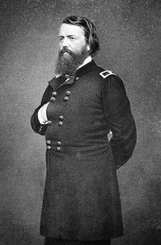 John Pope becomes Commander