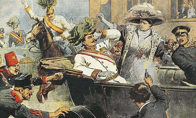 Arch duke franz Ferdinand  assassinated