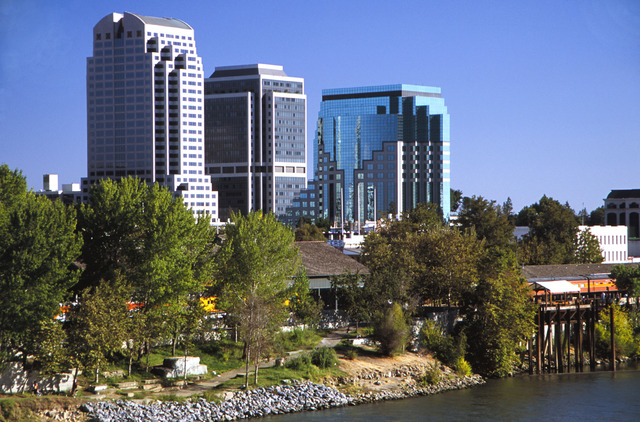 Sacramento is ranked #7 by OurGreenCities.com
