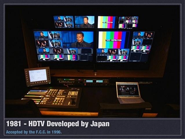 Primer sistema HDTV que funcionó
