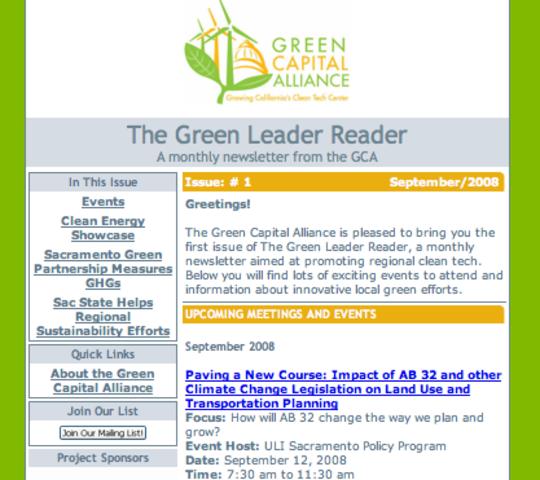 GCA e-news Debuts