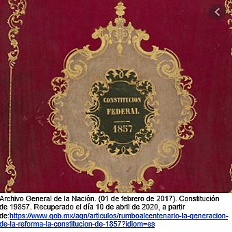 Se reforman la constitución de 1857