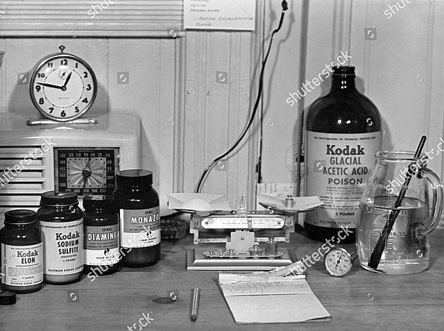 PHOTOGRAPHIC CHEMICALS TO KODAK
