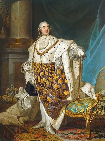 Re Luigi XVI viene incoronato Re di Francia