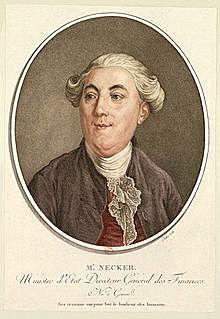 """Jacques Necker viene nominato per la seconda volta """"Contrôleur général des finances"""""""