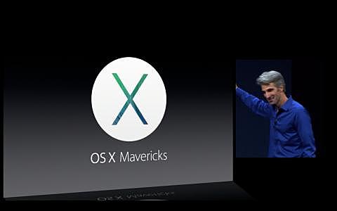 "Mac OS X 10.9 ""Mavericks"""