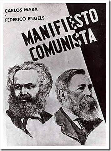 Marx i Engels publiquen el Manifest Comunista