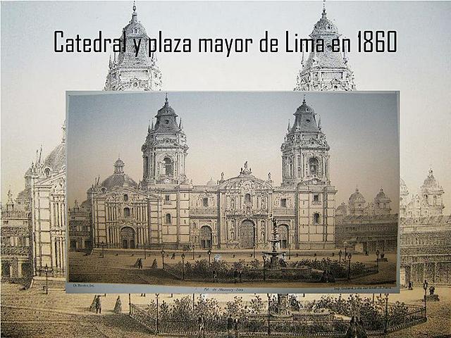 CONSTRUCCIÓN DE LA BASÍLICA CATEDRAL DE LIMA