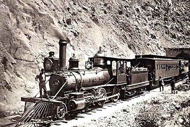 PERU. LIMA. Costruccion ferrocarril.