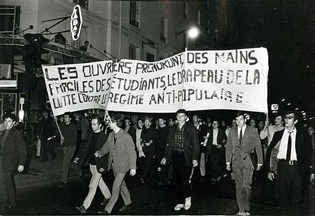 Revolta universitaria a França