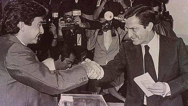 Primeres eleccions democràtiques a Espanya.
