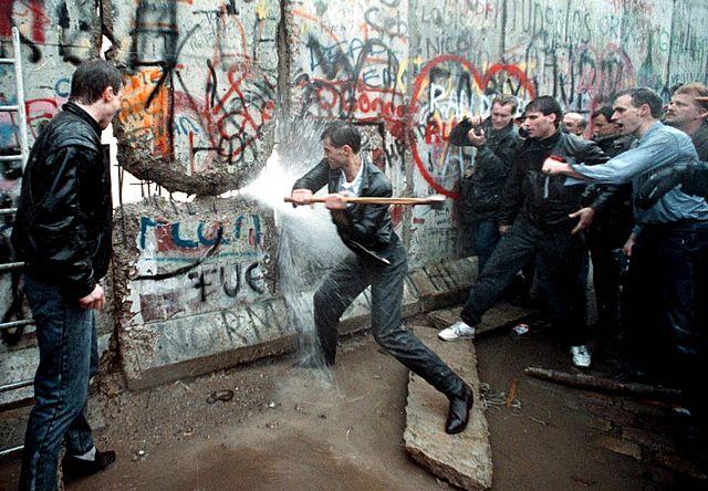 Demolició del mur de Berlín.