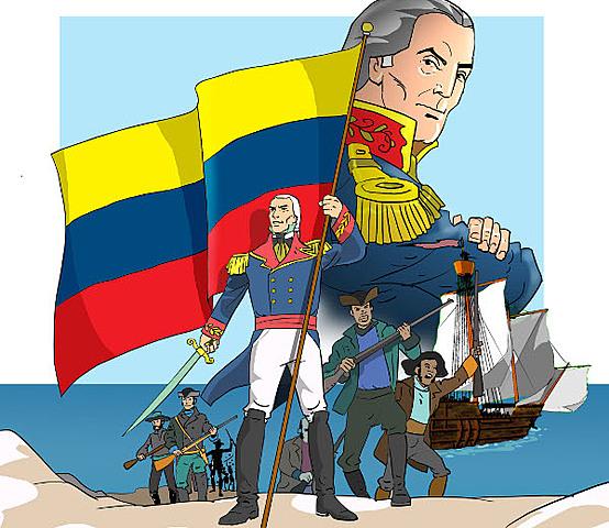 Regresa a Venezuela para luchar por su independencia.